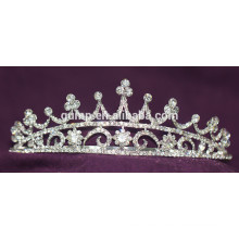 Discount Shiny Headwear Kristall Braut Crown Custom Hochzeit Tiara