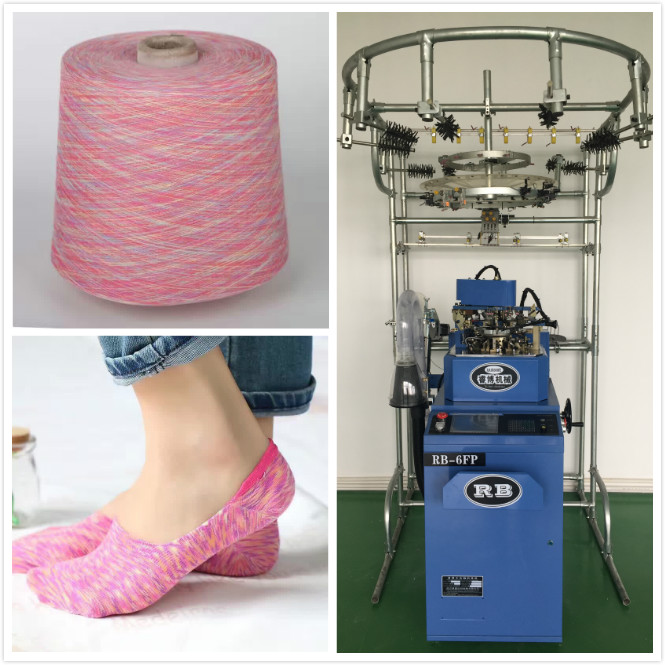 Wonderful Low-cut Sock Knitting Machine Price