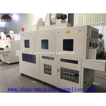 Machine d'irradiation UV double face