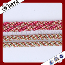 two kind color and beautiful decorative Rope for sofa decoration or home decoration accessory,decorative cord,6mm