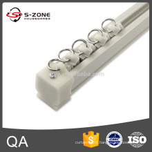 Suspended curve ceiling hardware flexible curtain rail accessories