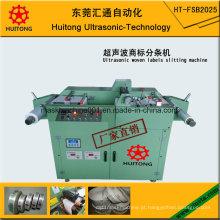 Máquina de corte de etiquetas tecida ultra-sônica
