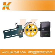 Elevator Parts|Safety Parts|Tension Device KT52-200|wire rope tensioner