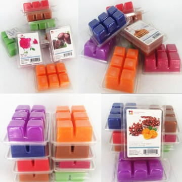 Square Natural Wax Melts Lilin Lilin wangi