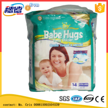 Wholesale Baby Diapers Disposable Type Diapers with Carton Backsheet