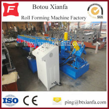 Galvanized CZU Shape Purlin Roll Forming Machine
