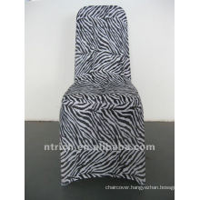 zebra chair cover,animal chair cover,CTS878,fit all chairs,wedding,banquet,hotel chair cover,sash and table cloth