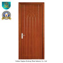 Современный дизайн двери HDF для интерьера (ДС-094)