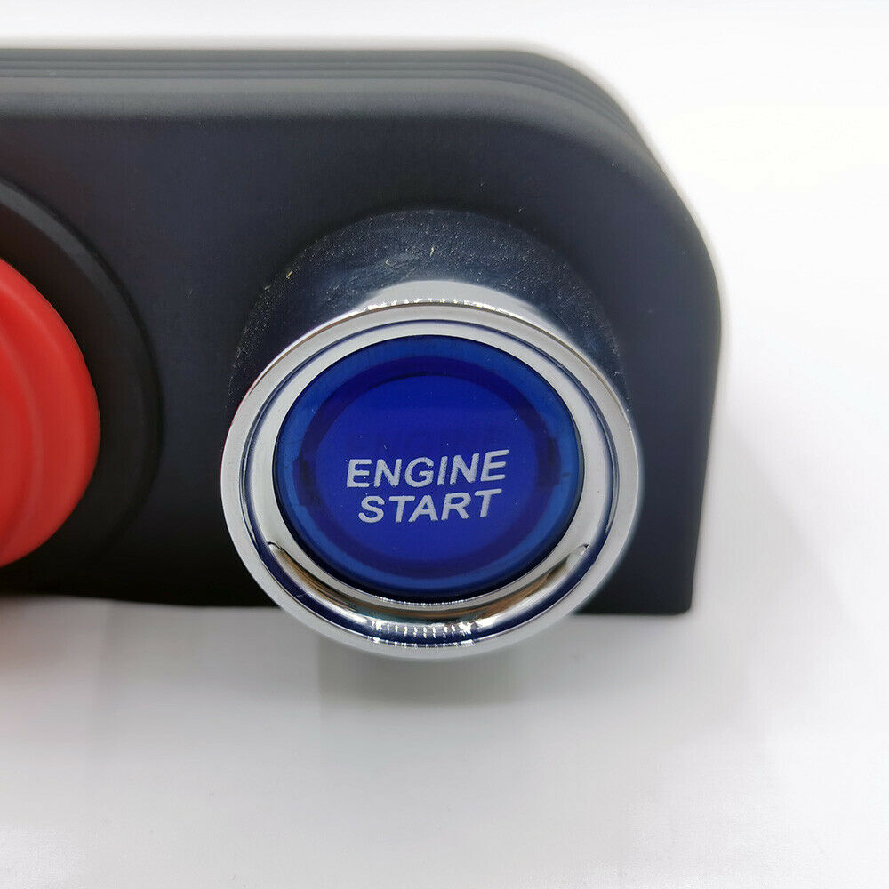engine one-click start switch panel