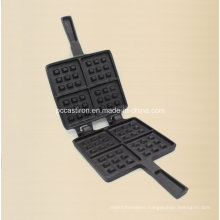 Preasedoned Cast Iron Pancake Mold Factory Supply
