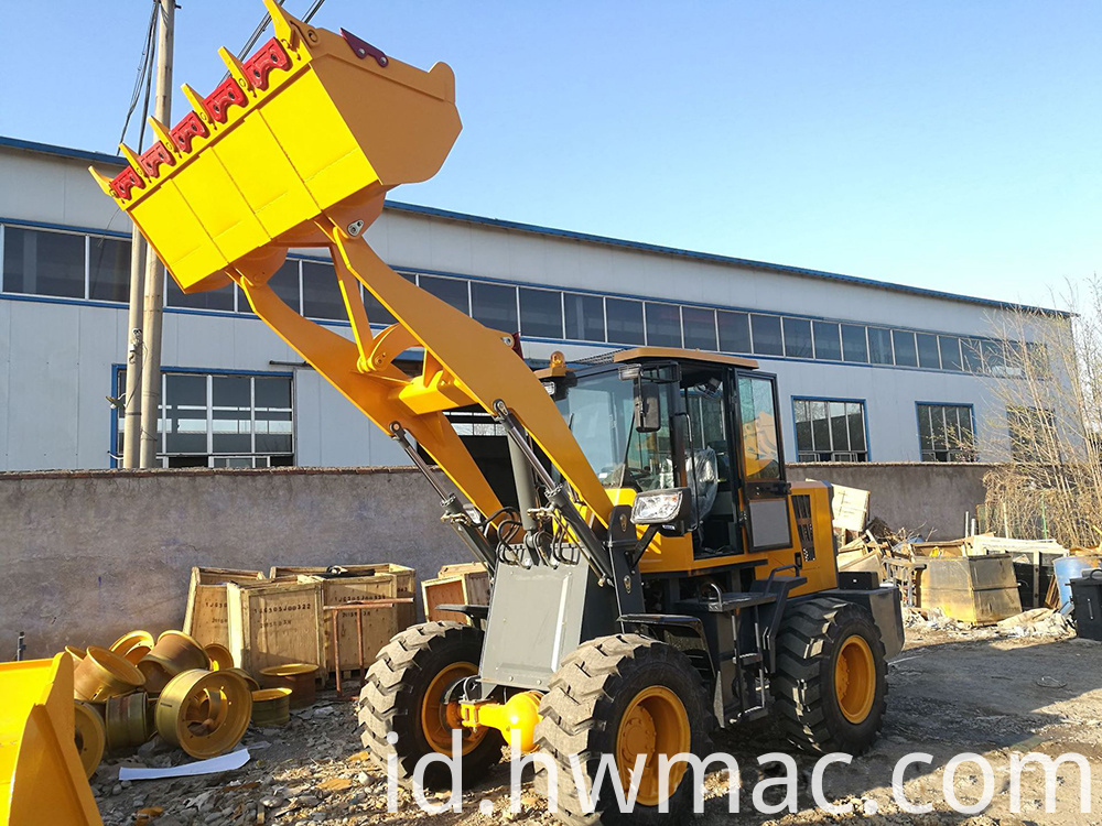 small wheel loader