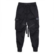 Pantalon cargo décontracté à poches multiples pour hommes