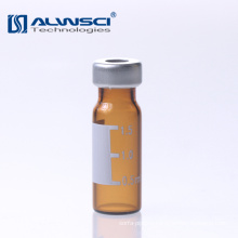 China manufacturing 1.8ml amber crimp hplc vial with shimadzu quality