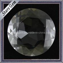 Piedra de cristal blanca de brillo de Natrual del precio de fábrica al por mayor