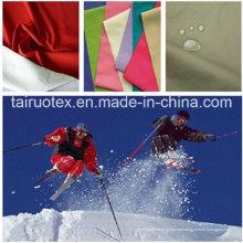 Poliéster 320t Taslon con recubrimiento lechoso para ropa funcional