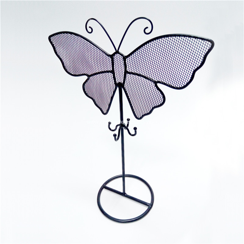 Metal Butterfly Jewelry Rack
