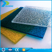 Portas de chuveiro revestidas em policarbonato de 10mm Lexan Folha sólida