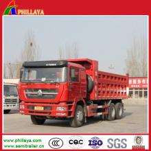 8 * 4 6 * 4 420HP 371HP Sinotruk HOWO Camion à benne basculante à vendre