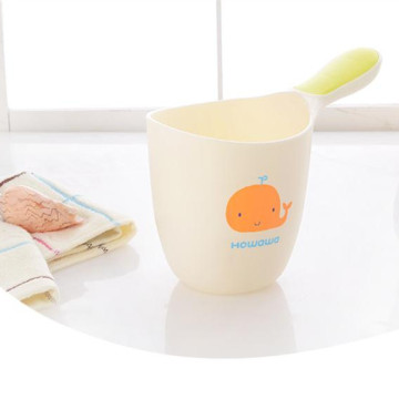 Cute Baby Bath Spoon Rinse Cup