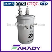 Leistungstransformator 1000w einphasiger Polverteiler-Transformator