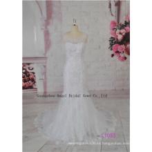 Fairy Line Silhouette Beach Wholesale Vestido de novia del proveedor de China