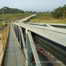 Ske Tubular Pipe Conveyor System for Bulk Material Handling