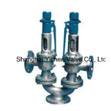 Válvula de segurança tipo mola duplex (A38)