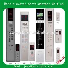 Tableau de l'élévateur d'ascenseur panneau d'atterrissage de l'ascenseur panneau de commande de la voiture