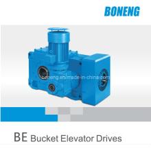 Elevador de cangilones de engranajes cónicos helicoidales industriales Dirver (BN-BE02)