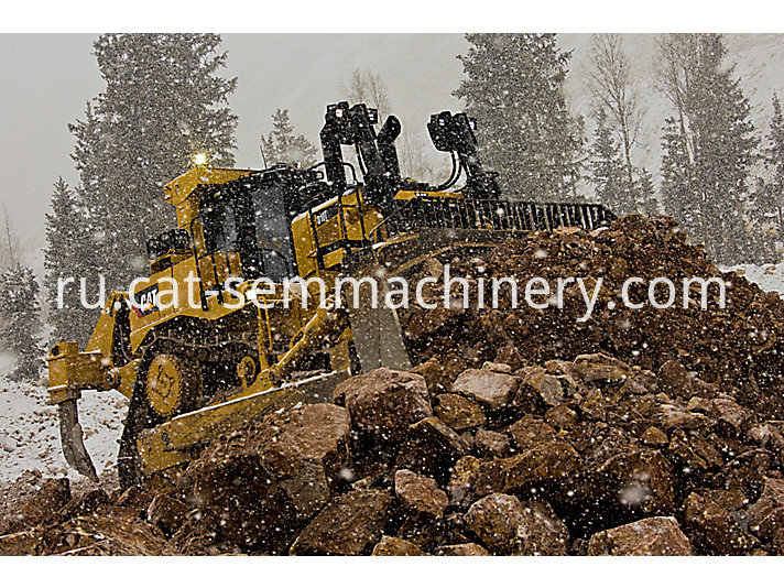 used Cat D10T large bulldozer