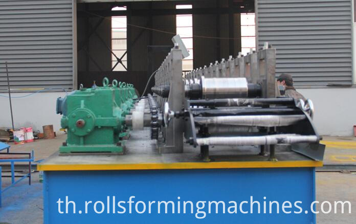 shutter door U guide machine U guide roll forming machine 3