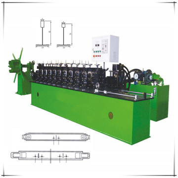 Automatic ceiling tee grid forming machine