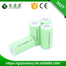 Ni-cd SC 1600 mah 1.2 v Bateria Recarregável Em Topless Atacado Exportação Sobre A Palavra Entrega Rápida