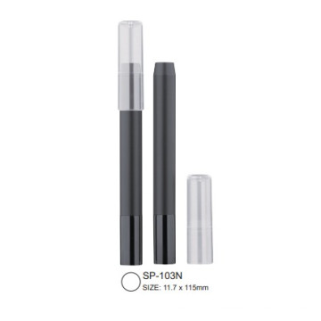 Crayon cosmétique Cap-off avec embout en aluminium