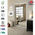 Tempered Glass Bedroom Cabinet Interior Sliding Glass Door