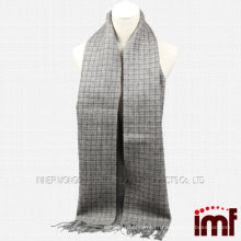 Moda Tartan 100% Mongolia Sheep Thick Lenço De Lã Atacado