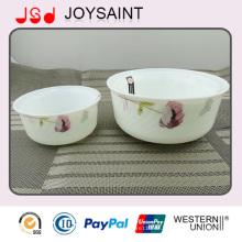 Werbe Neue Design Glaswaren Salatschüssel