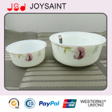 Envase de ensalada promocional de la cristalería del nuevo diseño