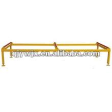 Table de support de produit de feuille de toit en métal de 3 mètres avec des rouleaux