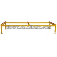 3 meter metal roof sheet product support table with rollers