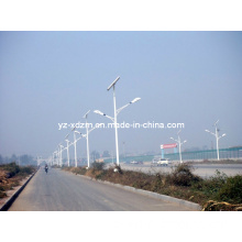Double Arm Lighting Pole with Q235 High Grade Steel