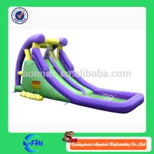 Недорогая надувная водная горка с бассейном для детей