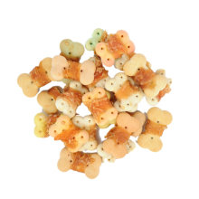 Dog Food Manufacturer Chicken Wrapped Biscuits Pet Treats