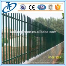 Gebrauchte Stahl Palisade Zaun zum Verkauf Made in Anping (China Produkte)