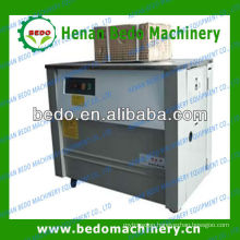 2013 the best selling high-table semi-auto fruit box strapping machine 008613253417552