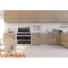 Küchenschrank, Küchenschrank, Küchenschrank aus Edelstahl