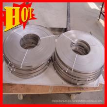 Anillo de titanio de tamaño personalizado Gr5 con alta calidad