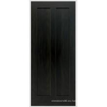 Puerta exterior de madera maciza Swing Black Walnut solo en venta