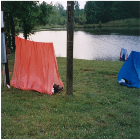 Disposable PE Tube Tent