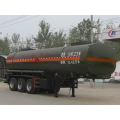 9.5m Tri-axle Flammable Liquid Transport صهريج نصف مقطورة